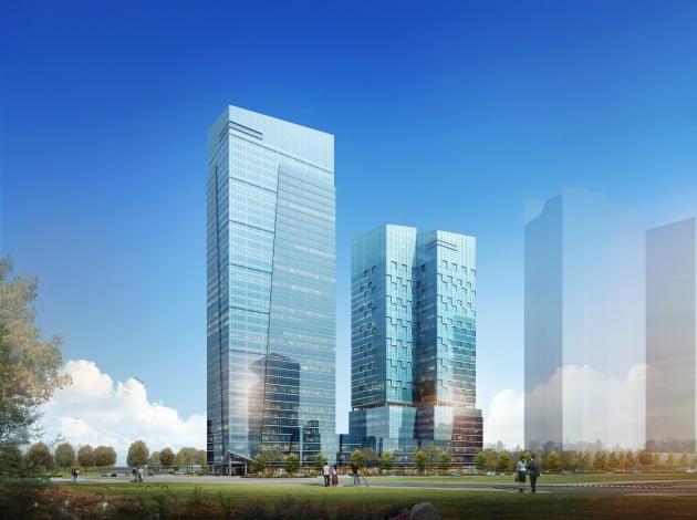포스코건설, 3635억원 규모 복합업무시설 개발사업 수주